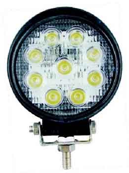 "Lifetime LED Lights 4.5"" Round 9-LED"