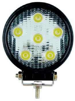 "Lifetime LED Lights 4.5"" Round 18W"