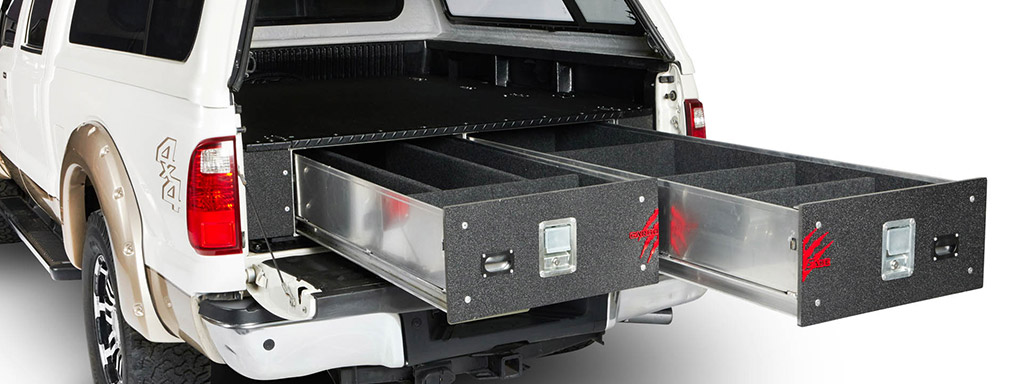 Cargo Ease Mighty Max Locker 2500 Lb Capacity 1 Drawer 07-16 Toyota Tundra Crew Max