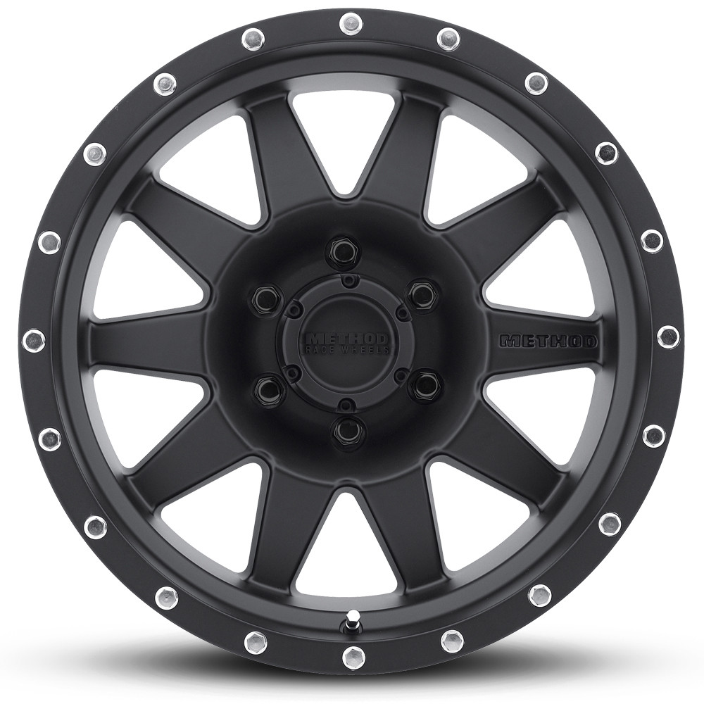 Method 301 The Standard Matte Black 18x9