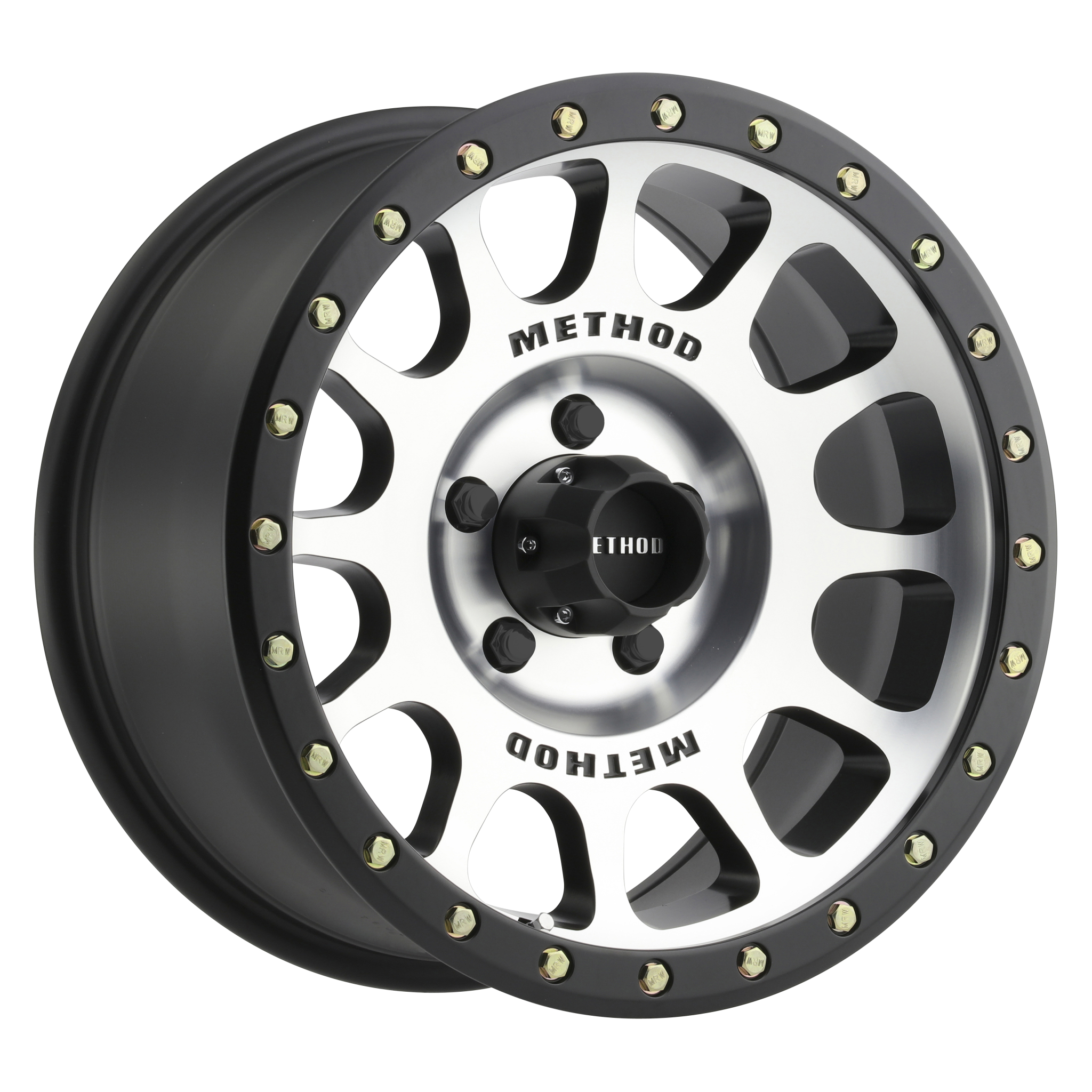 Method 305 NV, 18x9, +25mm Offset, 5x150, 116.5mm Centerbore, Machined/Black Street Loc