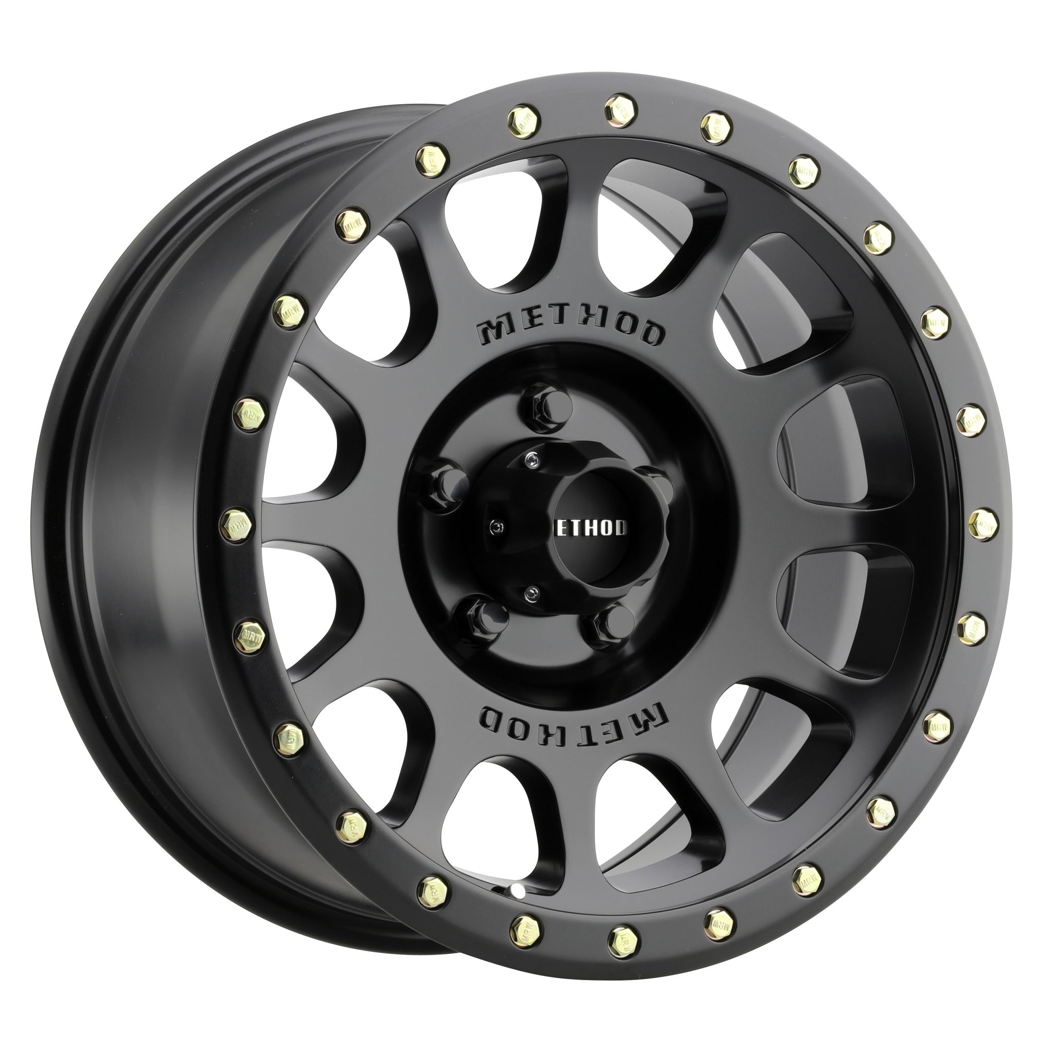 Method 305 NV, 18x9, +25mm Offset, 5x150, 116.5mm Centerbore, Matte Black