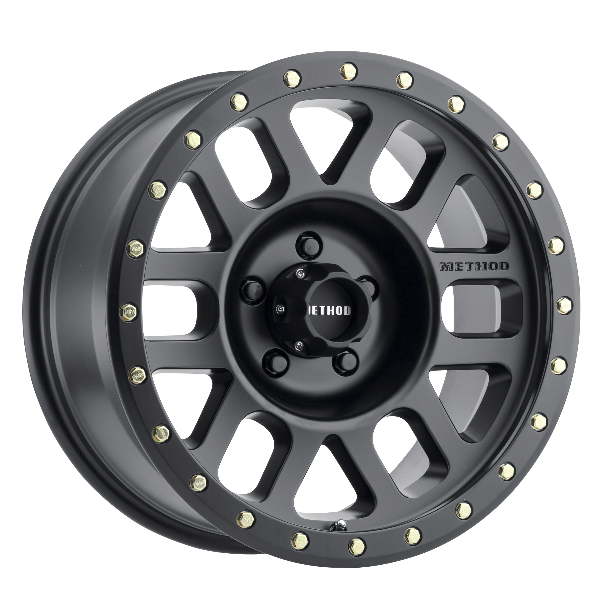 Method 309 Grid, 18x9, +18mm Offset, 5x150, 116.5mm Centerbore, Matte Black