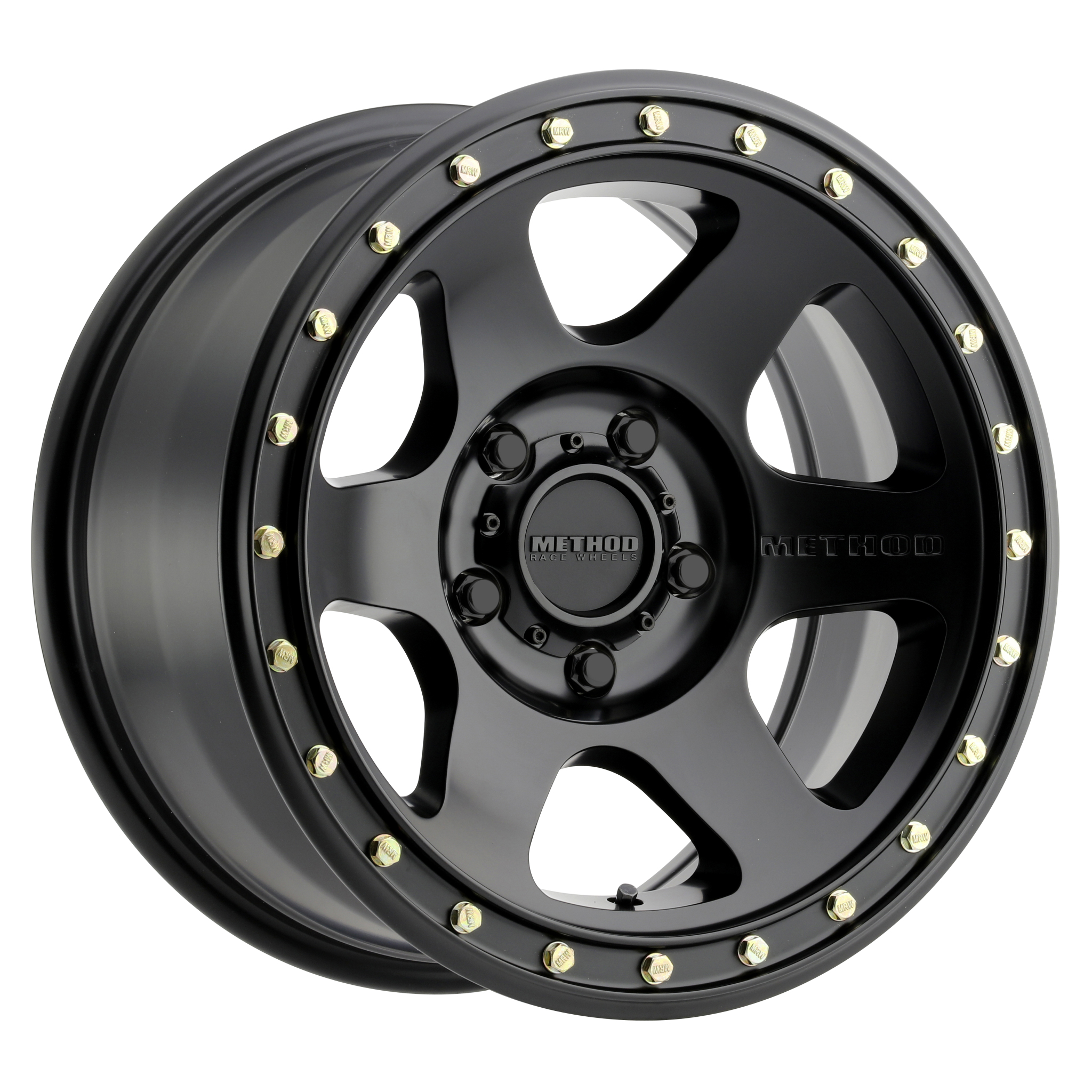 Method 310 Con6, 18x9, +18mm Offset, 5x150, 110.5mm Centerbore, Matte Black