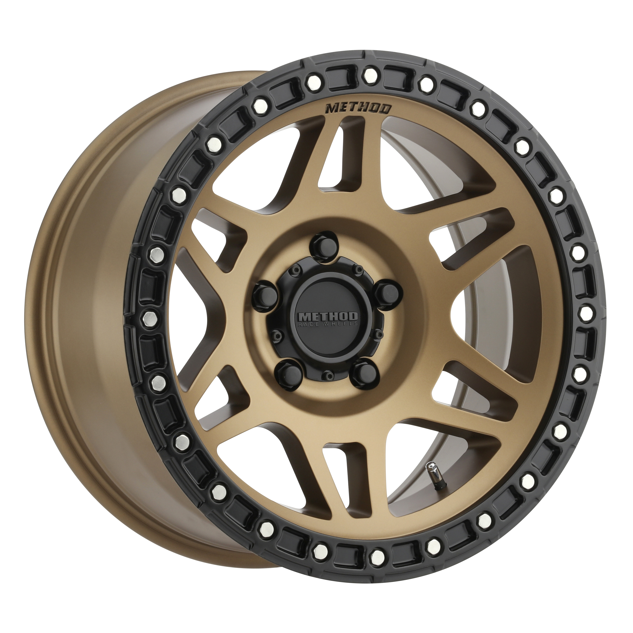 Method 312, 18x9, +18mm Offset, 5x150, 110.5mm Centerbore, Method Bronze/Black Street Loc