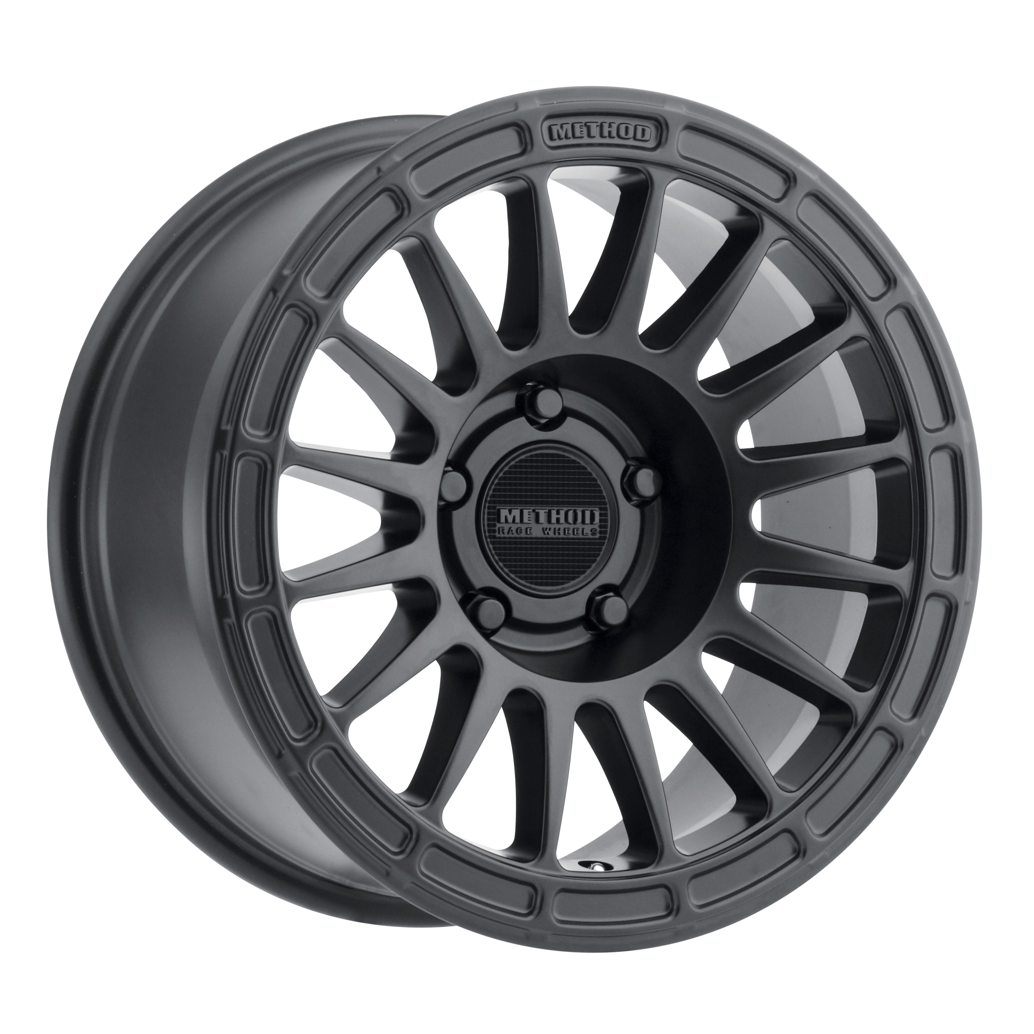 Method 314, 18x9, +18mm Offset, 5x150, 110.5mm Centerbore, Matte Black