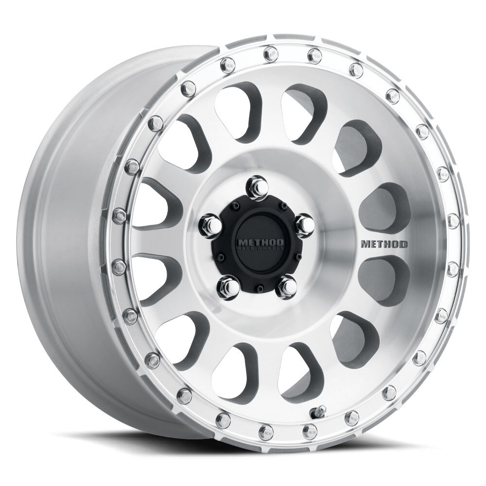 Method 315, 18x9, +18mm Offset, 5x150, 110.5mm Centerbore, Machined/Clear Coat