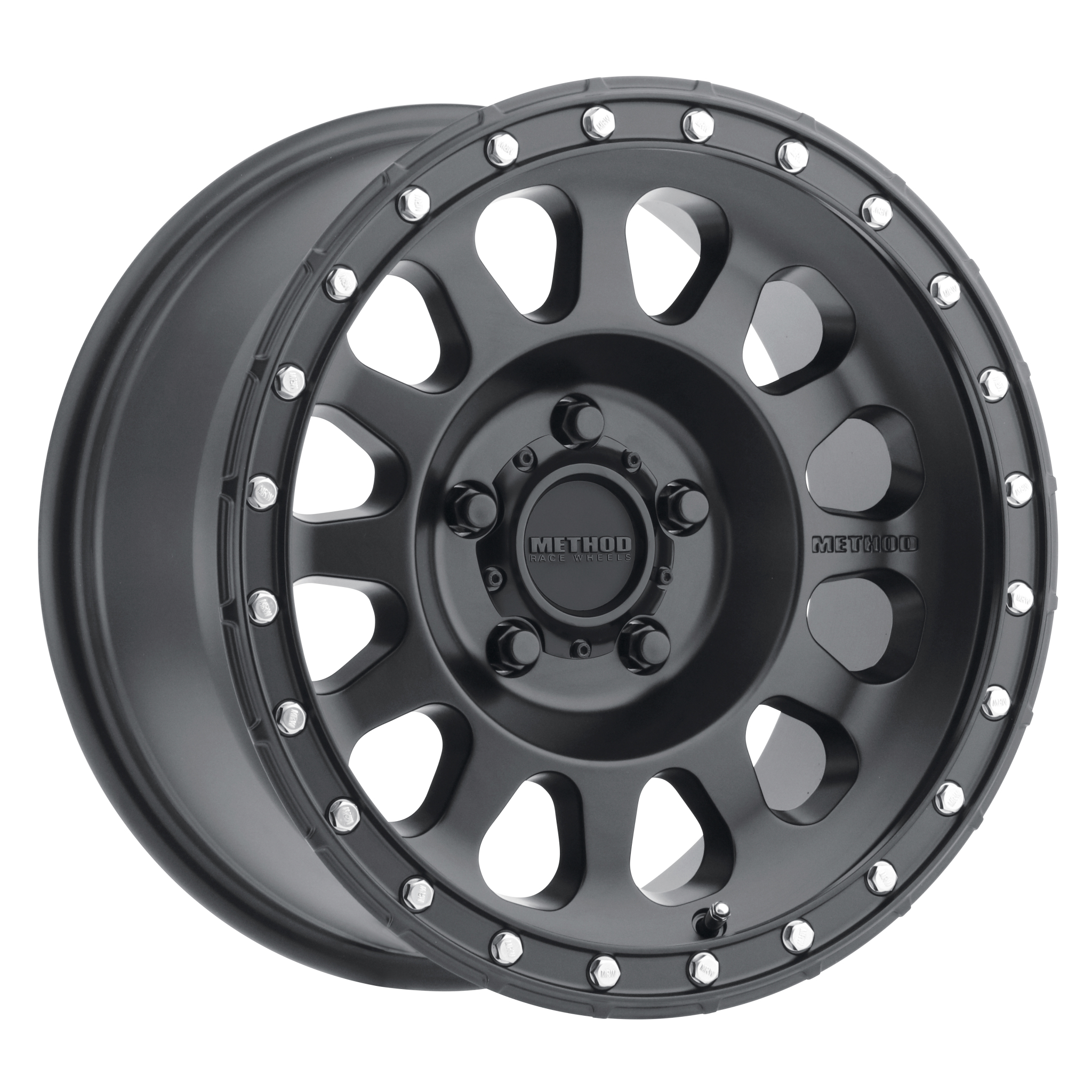 Method 315, 18x9, +18mm Offset, 5x150, 110.5mm Centerbore, Matte Black
