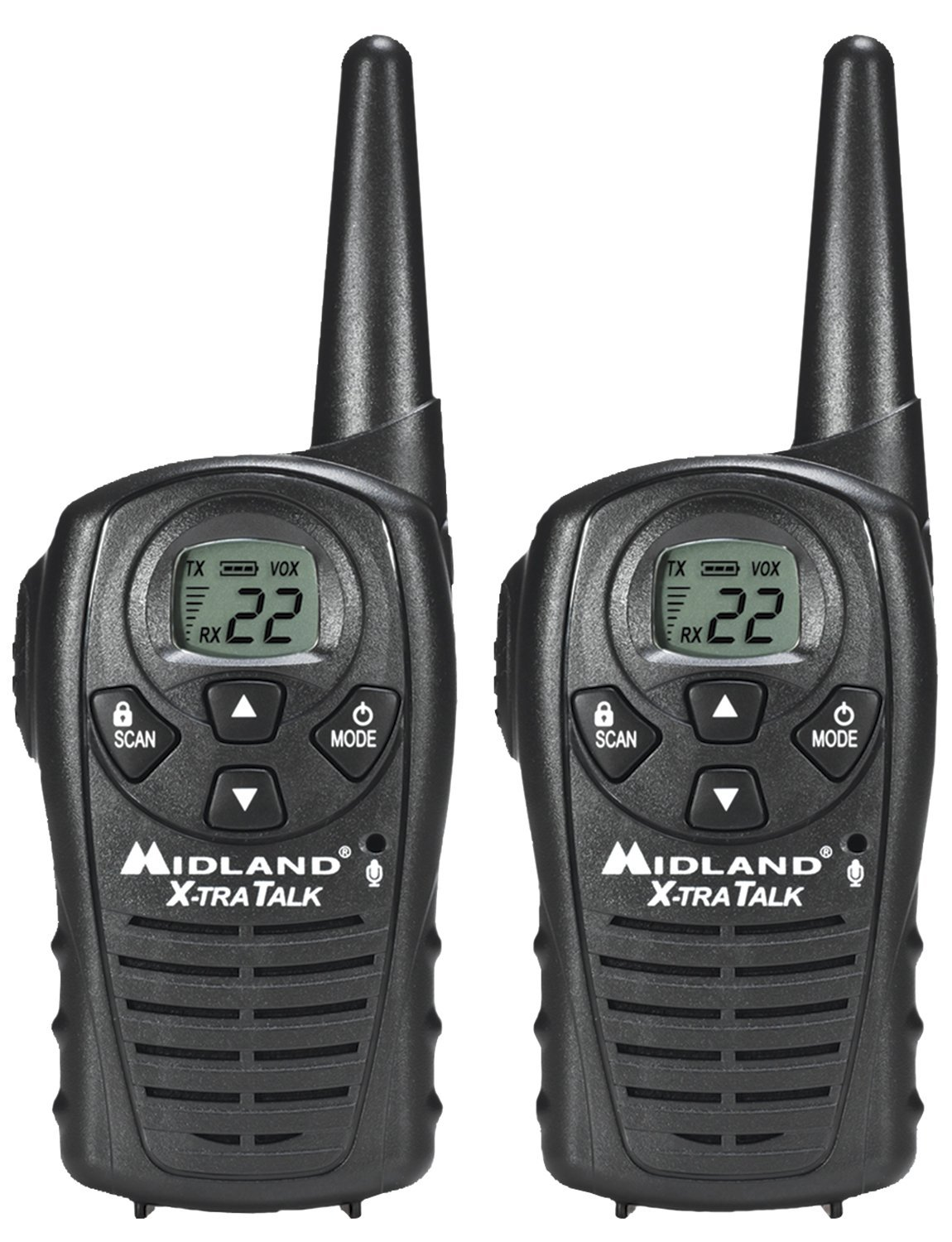 Midland LXT118 Up to 18 Mile Two-Way Radio