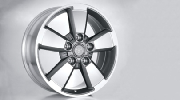 "Carved Alloy Wheel 20"" 2007+"