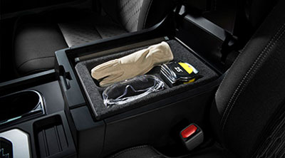 Center Console Tray - Black