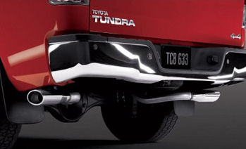 TRD Performance CatBack Dual Exhaust Tailpipes