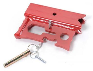 JackMate Lift Jack Accessory - Fire Engine Red