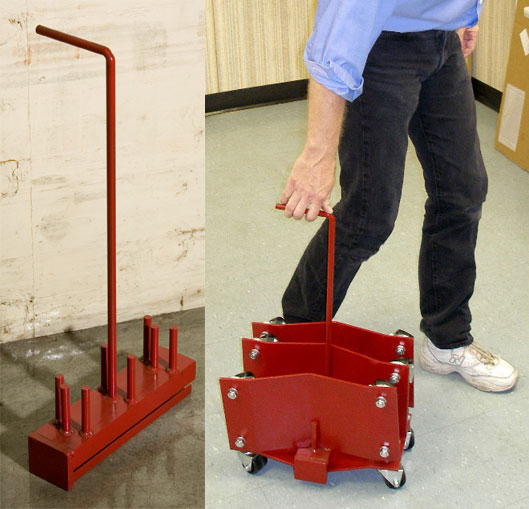 Auto Dolly Rolling Rack