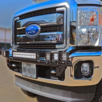 N-Fab 14-17 Toyota Tundra Light Bar w/Multi-Mount for LED Lights
