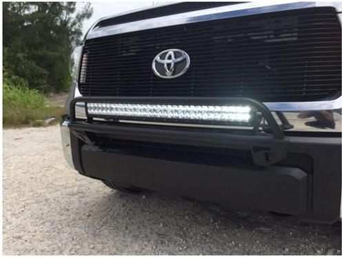 N-Fab 2014-2020 Toyota Tundra Light Bar w/Multi-Mount for LED Lights Gloss Black - Ships Free
