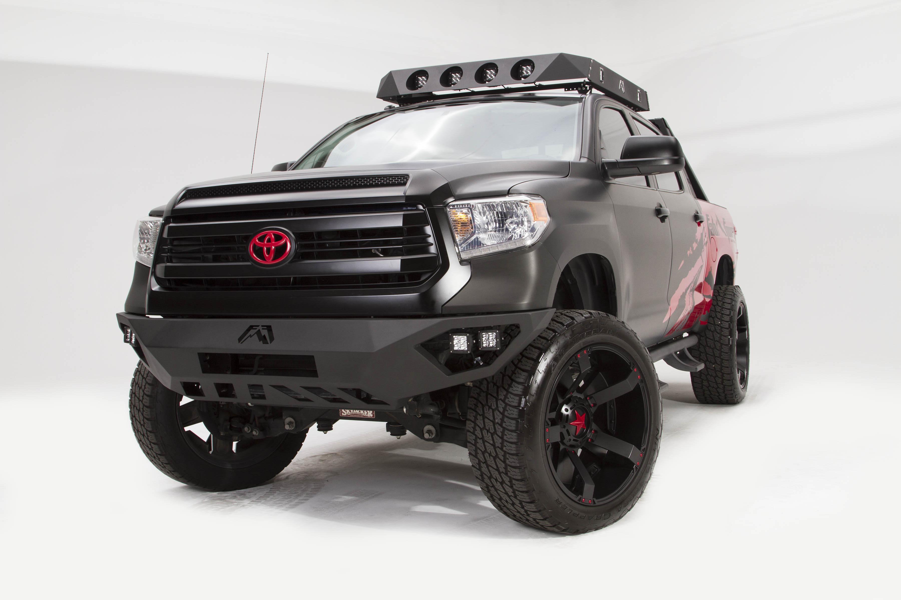Road Rhino Bumper >> Fab Fours 2014+ Tundra Vengeance Front Bumper w/No Guard 2014-2019 [TT14-D2851-1] - $1,699.99 ...