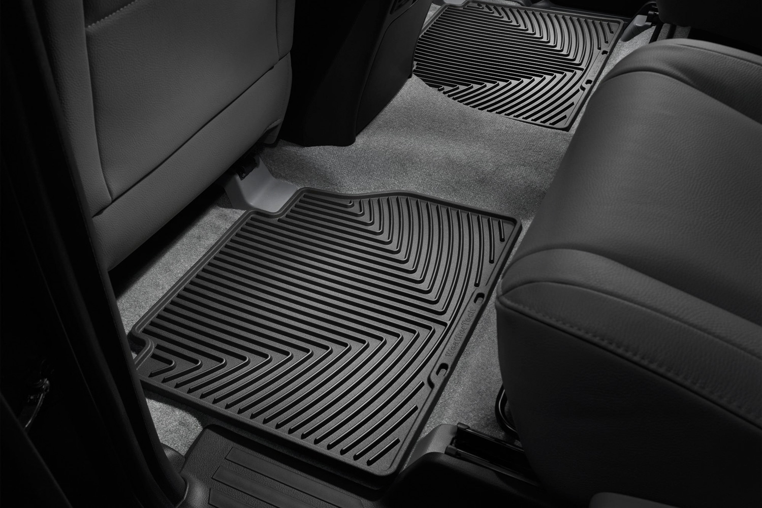 Toyota Tundra All Configurations Rear Rubber Mats Black