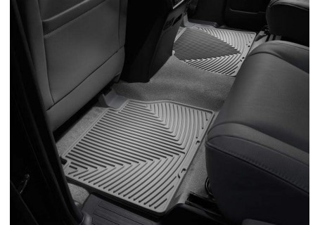 Toyota Tundra All Configurations Rear Rubber Mats Grey
