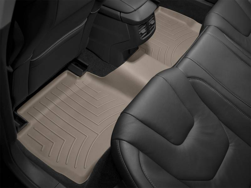 Toyota Tundra All Configurations Rear Rubber Mats Tan