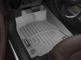 Toyota Tundra Front Rubber Mats Grey