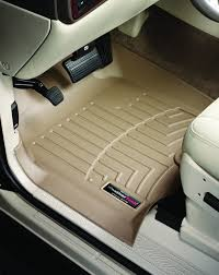 Toyota Tundra Front Rubber Mats Tan