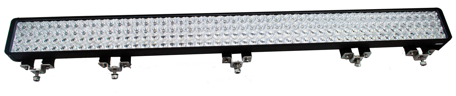 "52"" XMITTER DOUBLE BAR BLACK 200 3W LED'S EURO"