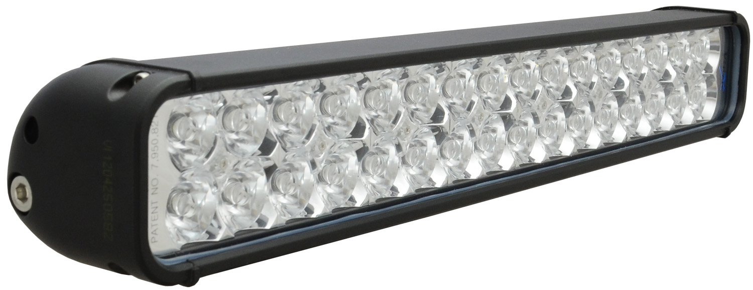 "18"" XMITTER LED BAR BLACK 32 3W LED'S EURO"
