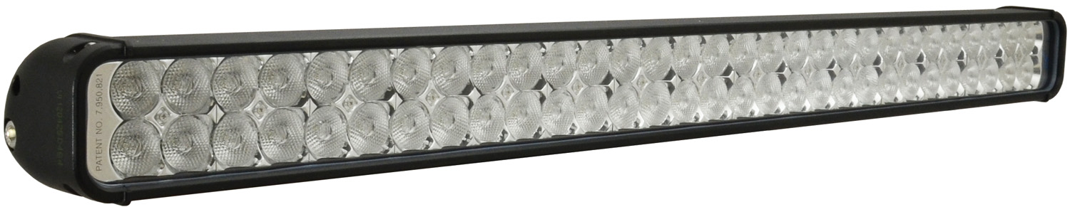 "32"" XMITTER LED BAR BLACK 60 3W LED'S FLOOD"