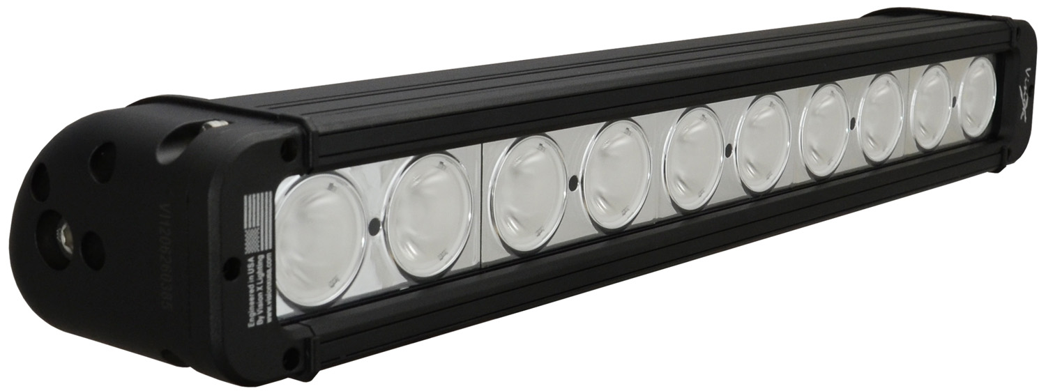"17"" EVO PRIME LED BAR BLACK 10 10W LED'S WIDE"