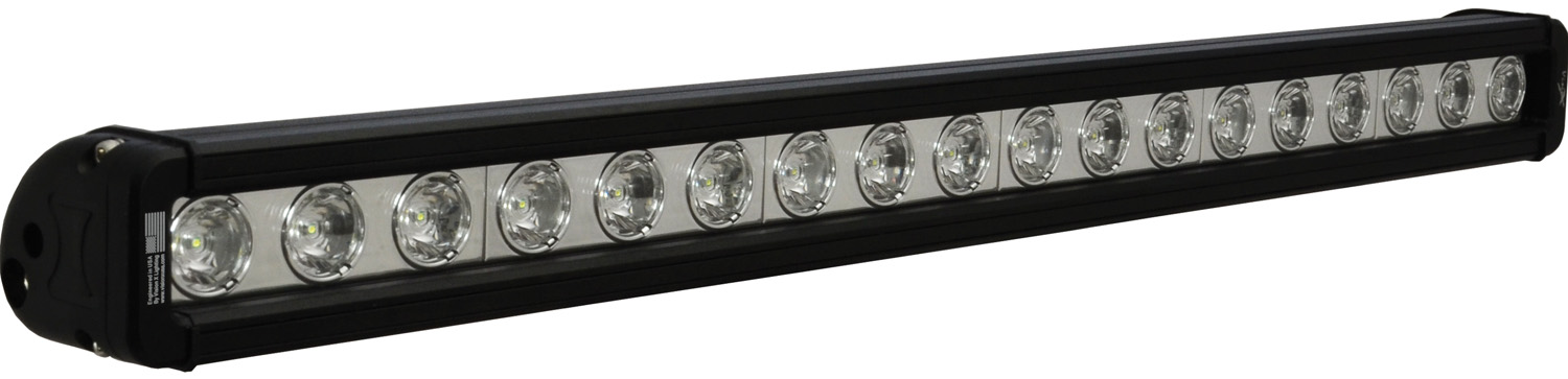 "24"" XMITTER LOW PROFILE BLACK 18 3W LED'S 10ç NARROW"