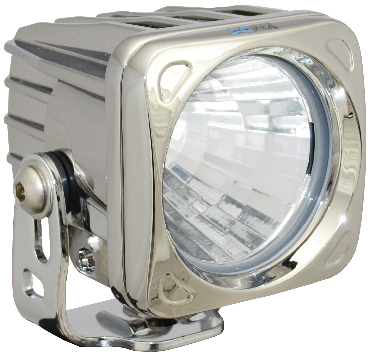 OPTIMUS SQUARE CHROME 1 10W LED 20° MEDIUM