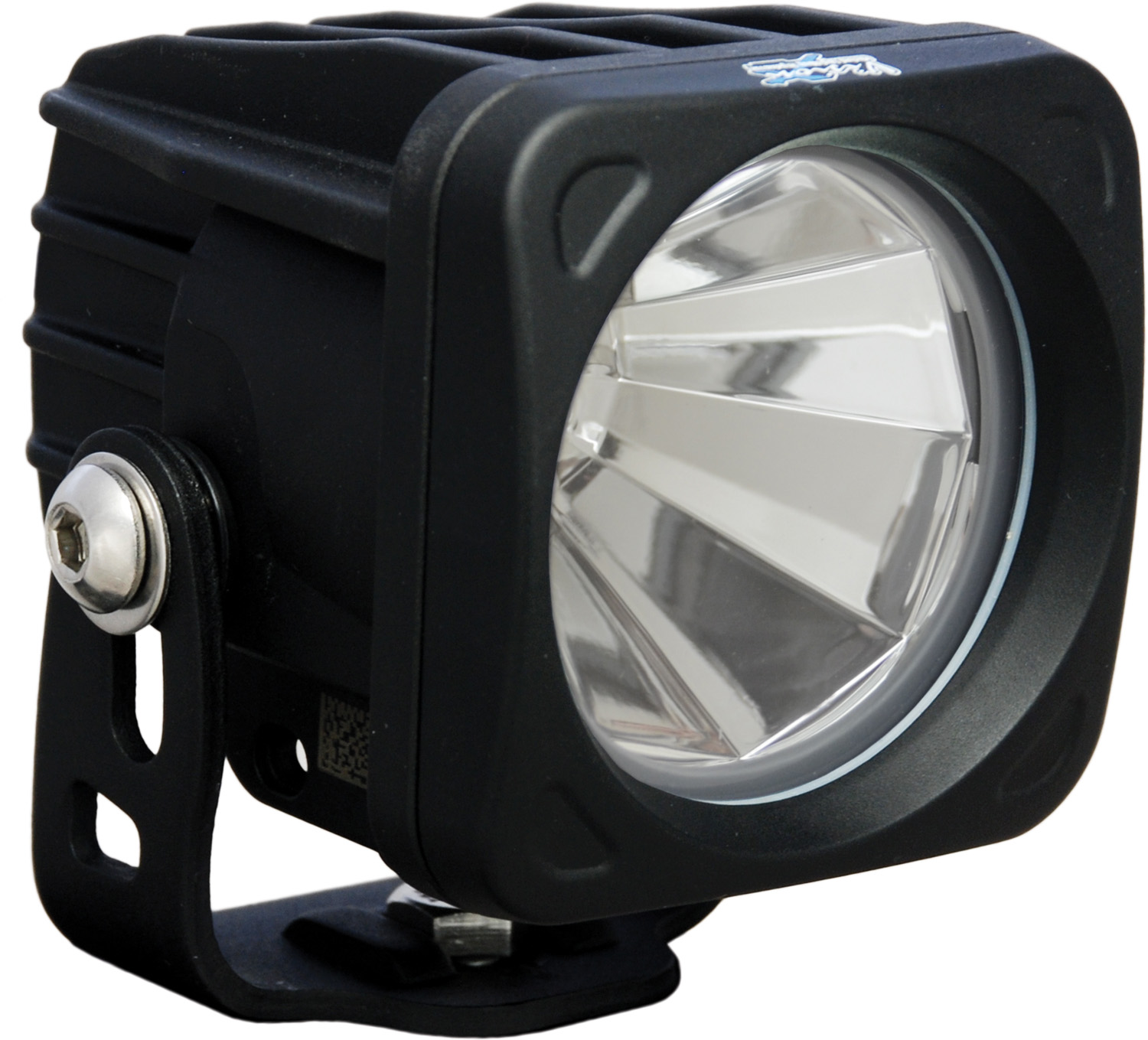 OPTIMUS SQUARE BLACK 1 10W LED 60° FLOOD