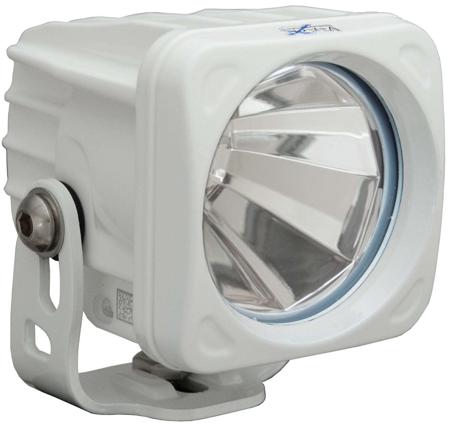 OPTIMUS SQUARE WHITE 1 10W LED 60° FLOOD