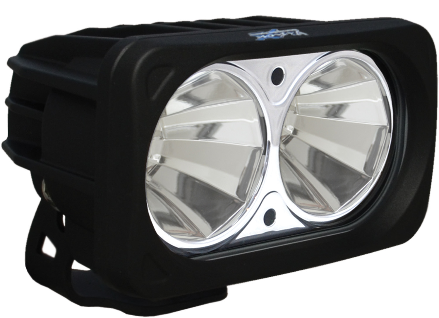 OPTIMUS SQUARE BLACK 2 10W LEDS 60° FLOOD