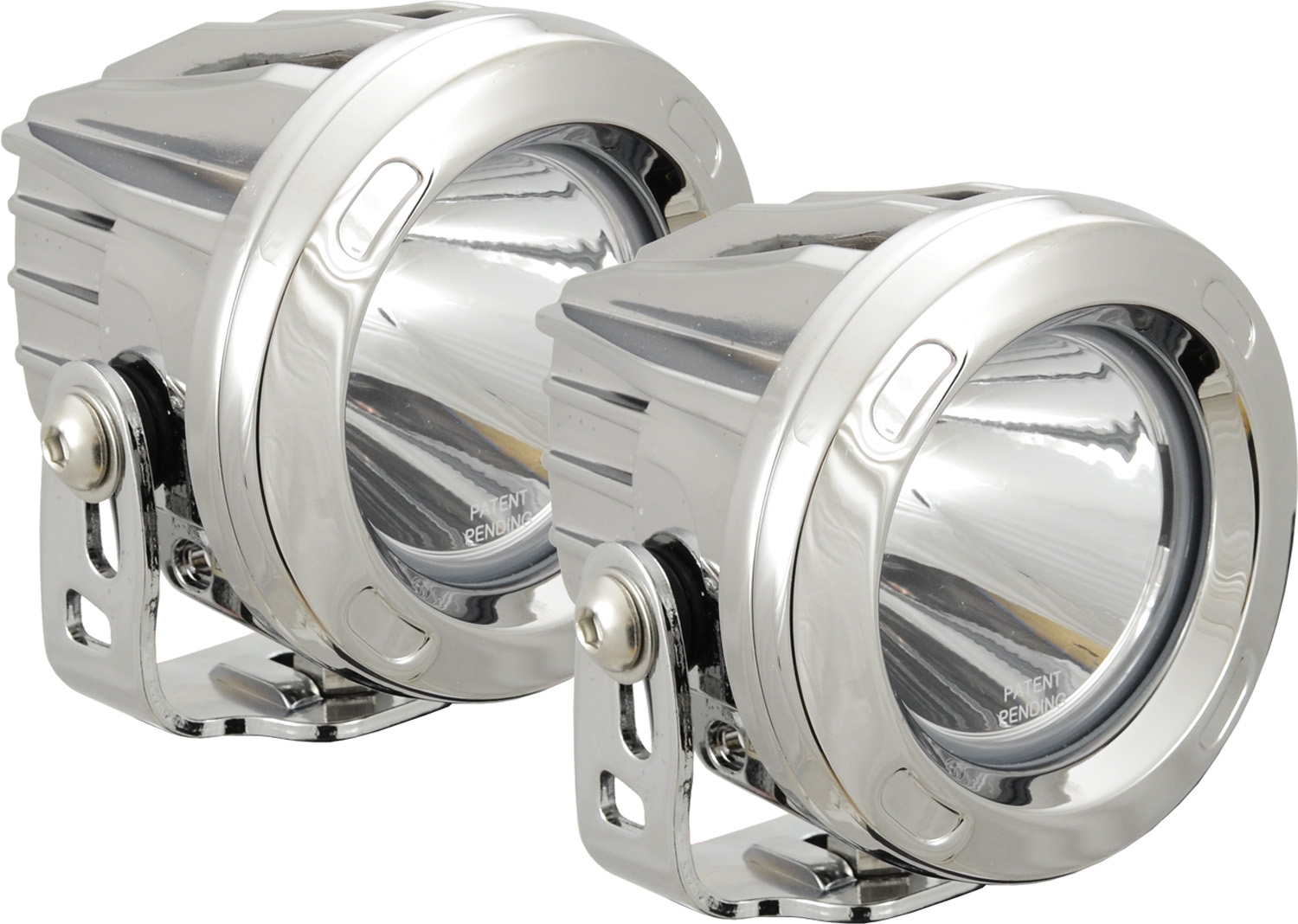 OPTIMUS ROUND CHROME 1 10W LED 10ç NARROW KIT OF 2 LIGHTS