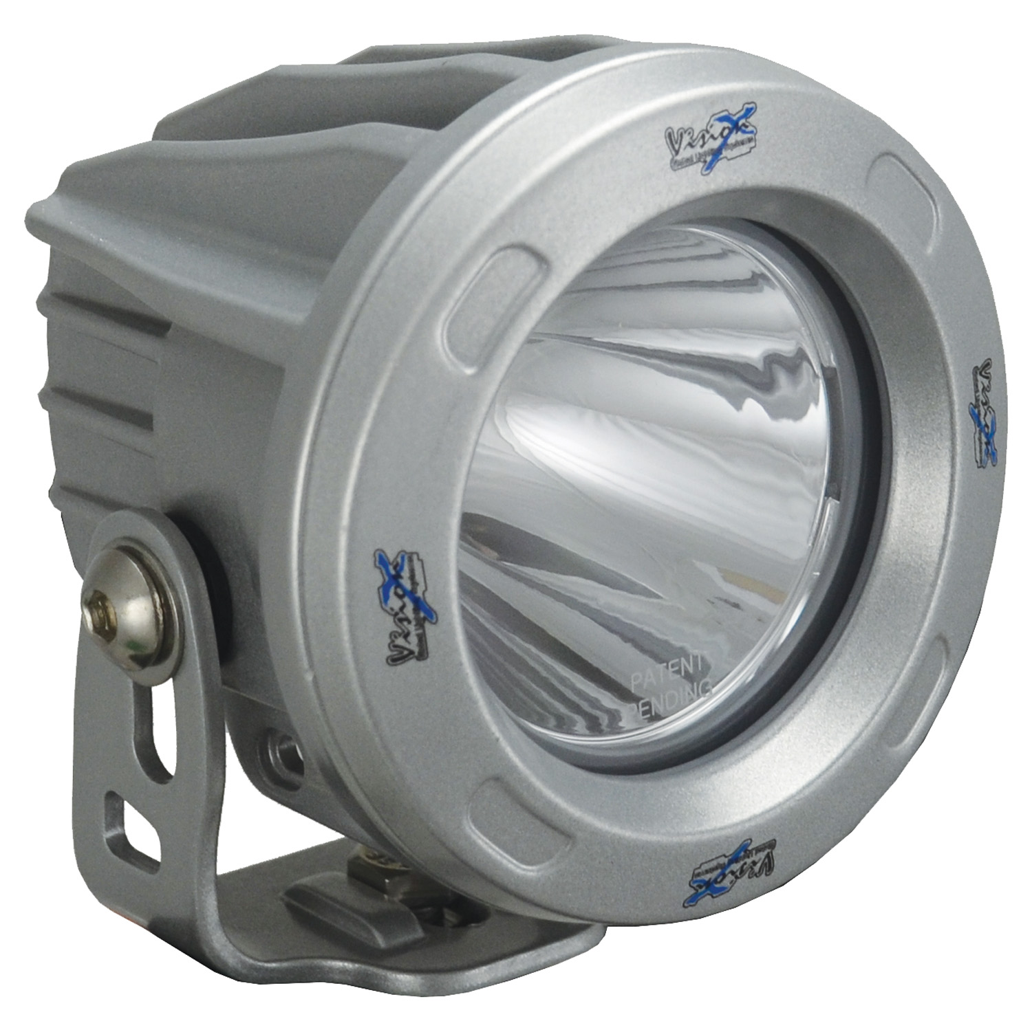 OPTIMUS ROUND SILVER 1 10W LED 10ç NARROW
