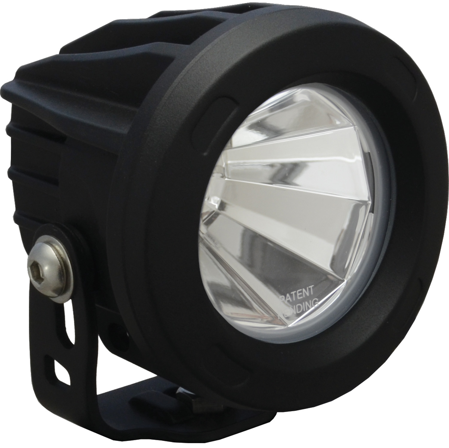 OPTIMUS ROUND BLACK 1 10W LED 60ç FLOOD