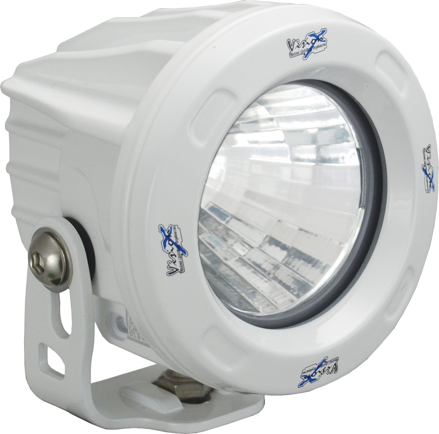 OPTIMUS ROUND WHITE 1 10W LED 60ç FLOOD
