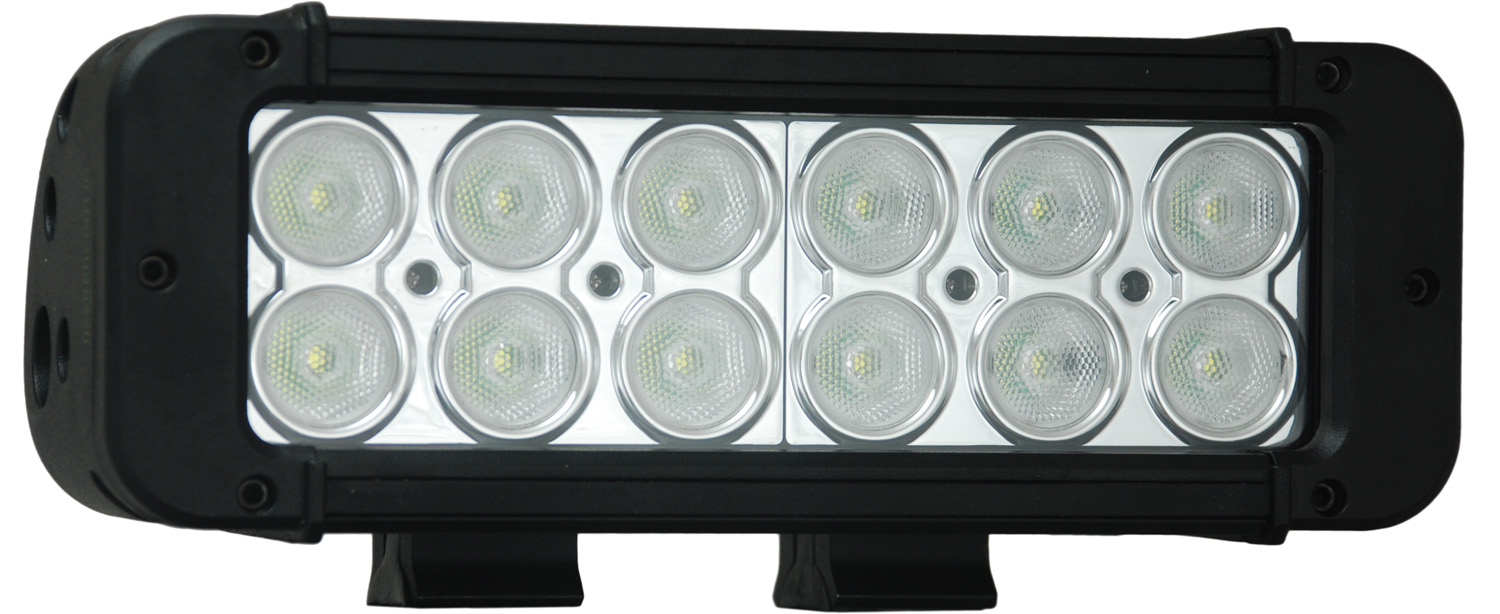 "8"" XMITTER PRIME LED BAR BLACK TWELEVE 3-WATT LED'S 40 DEGREE WI"
