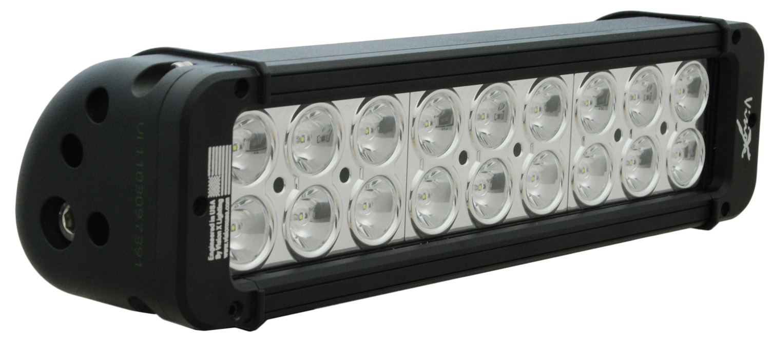 "11"" XMITTER PRIME LED BAR BLACK EIGHTEEN 3-WATT LED'S 10 DEGREE"