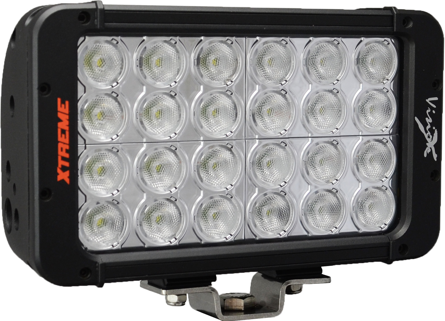 "8"" XMITTER PRIME XTREME LED BAR BLACK 24 5W LED'S 40ç WIDE"