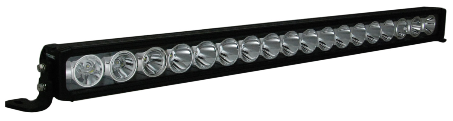 "35"" XMITTER PRIME IRIS LIGHT BAR 18 LED WITH TILTED OUTER OPTICS"