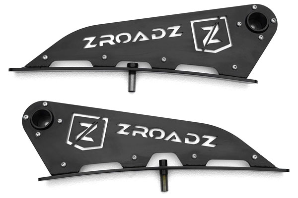 Zroadz 2001-2018 Tundra Front Roof LED Light Bar Mounts