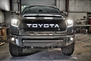 DBC Backlit Grille Insert for 2014+ Toyota Tundra