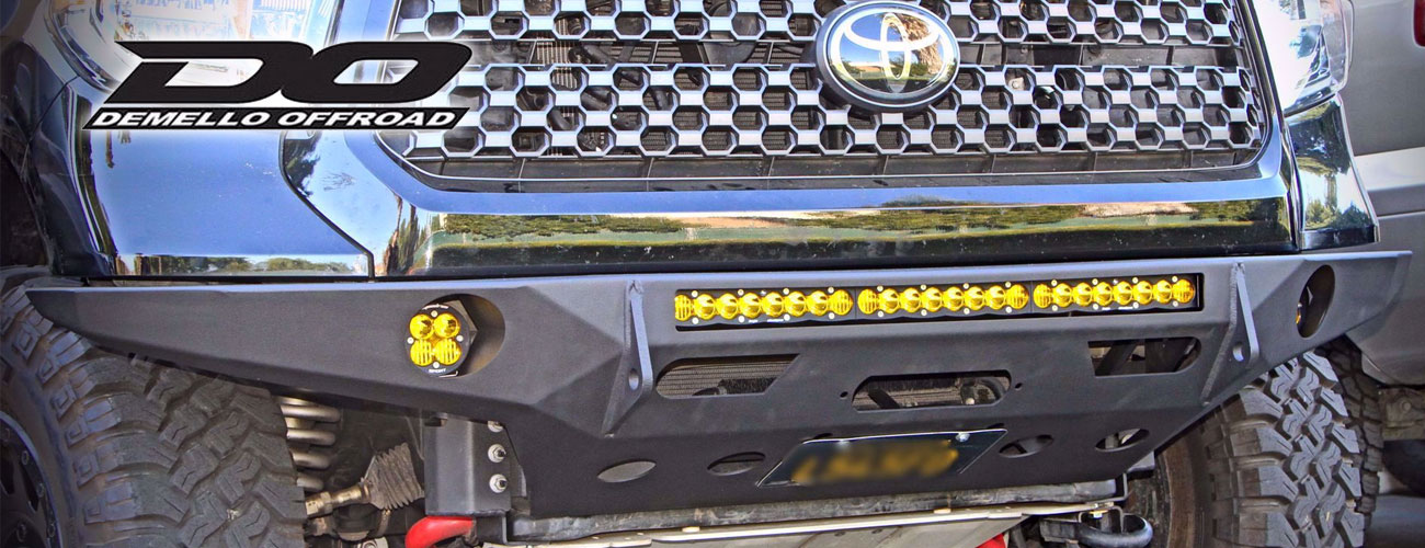 New Tundra bumper from Demello Off-Road!