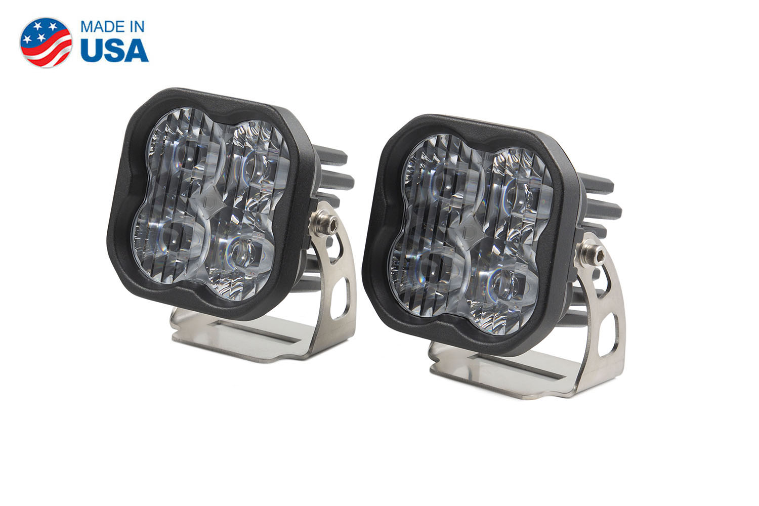 Diode Dynamics Worklight SS3 Pro White SAE Driving Standard (pair)