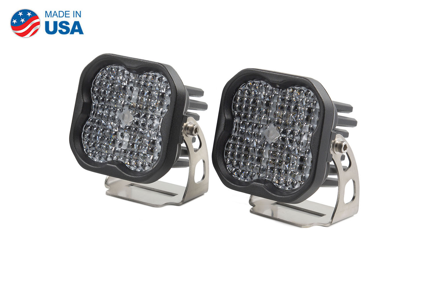 Diode Dynamics Worklight SS3 Pro White Flood Standard (pair)