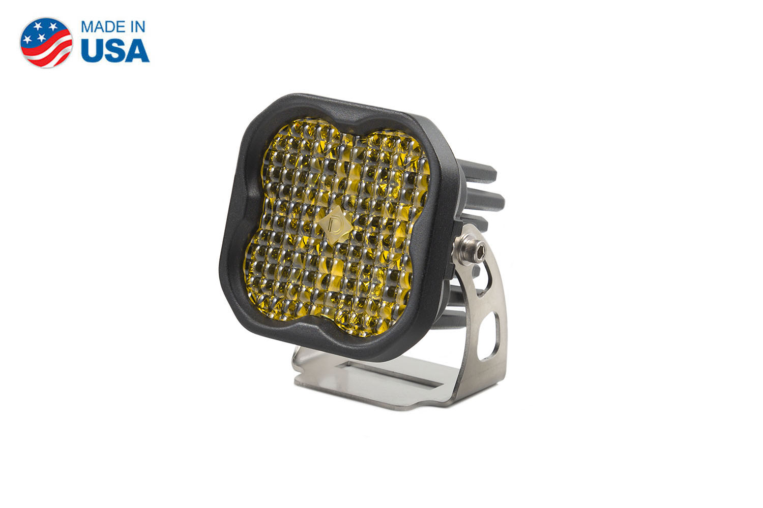 Diode Dynamics Worklight SS3 Pro Yellow Flood Standard (single)
