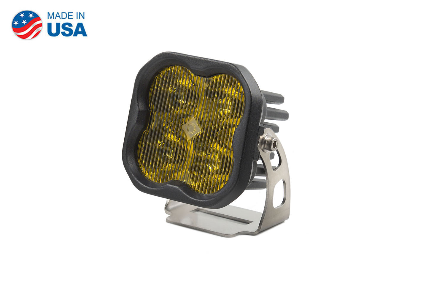 Diode Dynamics Worklight SS3 Pro Yellow SAE Fog Standard (single)